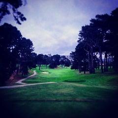Photo taken at Lake Merced Golf Club by Eiríkr W. on 9/22/2014