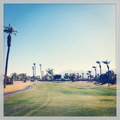 Photo taken at Indian Palms Country Club & Resorts by Eiríkr W. on 1/15/2014