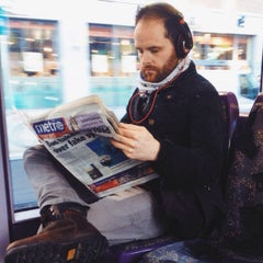 Photo taken at George's Dock Luas by tanya i. on 1/10/2014