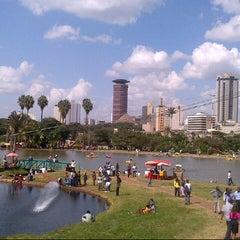 Photo taken at Uhuru Park by Buddha B. on 5/26/2013