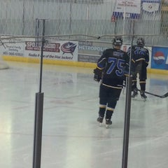 Photo taken at Lou & Gib Reese Ice Arena by Brian C. on 11/17/2014