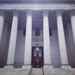 Photo taken at New York Supreme Court by Joel V. on 9/29/2012