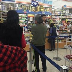 Photo taken at Farmacias Guadalajara by Temo R. on 2/4/2016