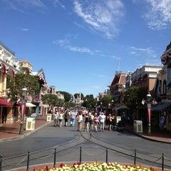 Photo taken at Main Street, U.S.A. by Chris G. on 9/3/2013