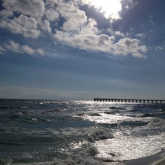 Photo taken at Navarre Beach by Alexa C. on 11/10/2012