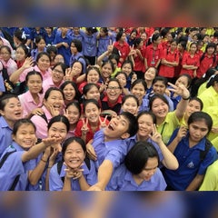 Photo taken at โรงเรียนสตรีสมุทรปราการ (Streesmutprakan School) by Kimeberinspirit on 3/30/2015