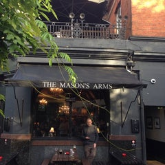 Photo taken at The Mason's Arms by Vladimir V. on 11/2/2013