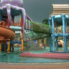 Photo taken at Citra Garden Water Park by Harun A. on 4/5/2014