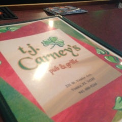 Photo taken at T. J. Carney's by Livvy R. on 6/21/2013