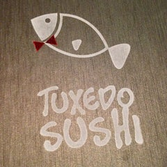 Photo taken at Tuxedo Sushi by Julian N. on 10/6/2012