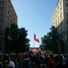 Photo taken at Paseo Bulnes by Rodolfo M. on 11/10/2012