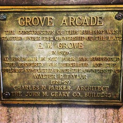 Photo taken at Grove Arcade by Chris G. on 5/31/2013