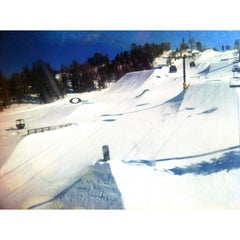 Photo taken at Unbound Main Terrain Park by Dillon M. on 2/18/2013