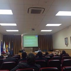 Photo taken at Facultad De Derecho by Dieg R. on 9/26/2013