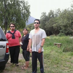 Photo taken at Camping El Sauce by Paola V. on 10/28/2012