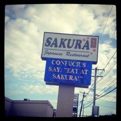 Photo taken at Sakura Japanese Restaurant by J. Isobel D. on 10/20/2012