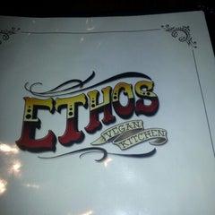 Photo taken at Ethos Vegan Kitchen by Jeff M. on 1/8/2013