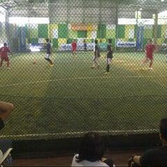 Photo taken at Planet Futsal by Fajar K. on 11/4/2012