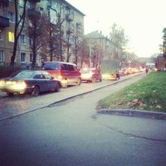 Photo taken at ул. Александра Суворова by Anton K. on 10/30/2012