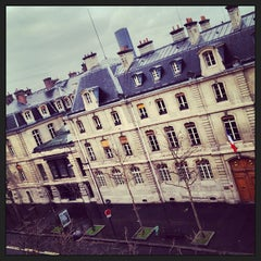 Photo taken at École des Mines by @SpotPink on 1/12/2013