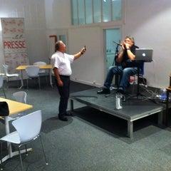 Photo taken at Club De La Presse Metz Lorraine by Dupuis-Remond J. on 10/19/2012