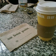 Photo taken at Au Bon Pain by Joan S. on 3/31/2013