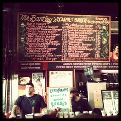 Photo taken at Mr. Bartley's Burger Cottage by soonisnow on 3/9/2013