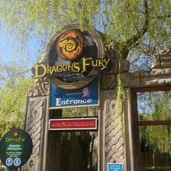 Photo taken at Chessington World of Adventures Resort by Daniel on 5/1/2013