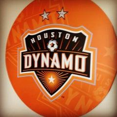 Photo taken at Houston Dynamo Offices by Amanda V. on 10/5/2012