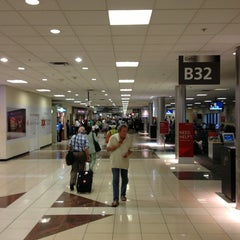 Photo taken at Concourse B by Tom B. on 9/2/2013