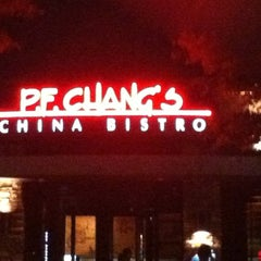 Photo taken at P.F. Chang's by Brandon M. on 10/10/2012