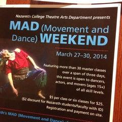 Photo taken at Nazareth College by Brian N. on 3/29/2014