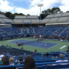 Photo taken at Connecticut Tennis Center by Chris M. on 8/23/2015