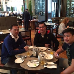 Photo taken at Glass Brasserie by Don C. on 6/12/2015