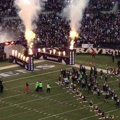 Photo taken at M&T Bank Stadium by Wendy G. on 12/23/2012