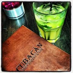 Photo taken at Cubacàn Restaurant and Bar by Trisha C. on 7/4/2013