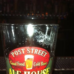 Photo taken at Post Street Ale House by Mike K. on 4/5/2011