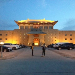 Photo taken at Silk Road Hotel Dunhuang by Jia O. on 6/17/2012
