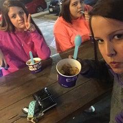 Photo taken at Chilly Fillmore's Frozen Yogurt by Monica K. on 1/27/2015
