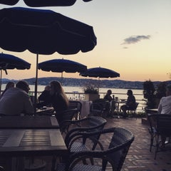 Photo taken at Hôtel Belles Rives by Maxine Marie S. on 6/17/2015