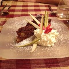 Photo taken at Osteria Bernardo by Maria Cristina I. on 10/23/2012