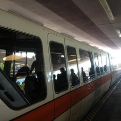 Photo taken at Monorail Orange by Chris M. on 2/8/2013