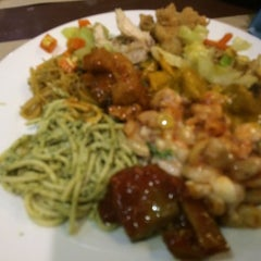 Photo taken at Hi Rice! Mongolian Restaurant Grill by Dolly S. on 10/4/2014