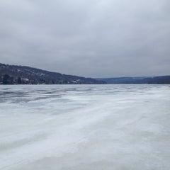 Photo taken at Deep Creek Lake by Layal I. on 3/16/2013