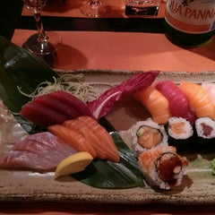Photo taken at Zen Sushi by Diego M. on 10/31/2014