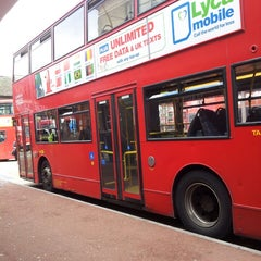 Photo taken at Hounslow Bus Station by Kathy M. on 9/18/2013