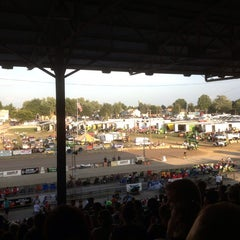 Photo taken at Stark County Fairgrounds by Drew T. on 8/31/2013