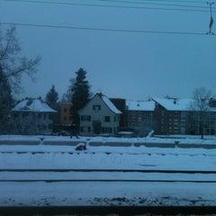 Photo taken at Bahnhof Dübendorf by gheass on 12/13/2012