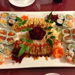 Photo taken at Fuji Sushi House by Todd N. on 9/24/2012