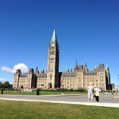 Photo taken at Parliament Hill by Steve D. on 9/8/2013